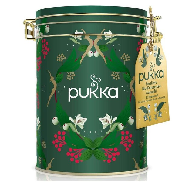 Pukka Tee Herbal Collection Schmuck-Teedose, 30 Btl.